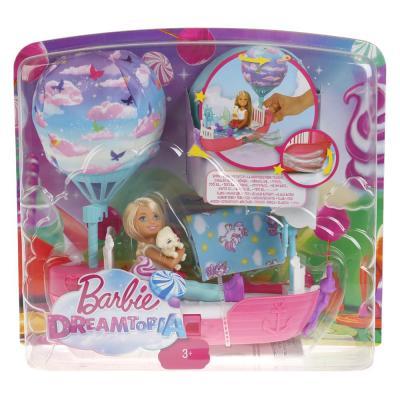 Игровой набор Barbie кроватка с куклой Челси DWP59 игровой набор barbie mattel паровозик челси