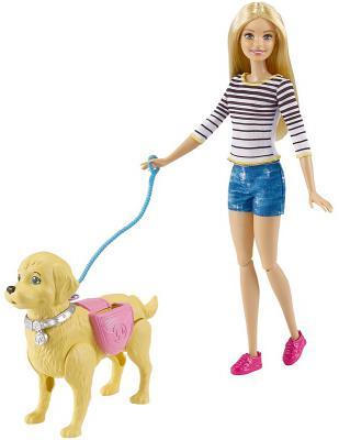 Barbie (Mattel) Кукла Mattel Barbie Прогулка с питомцем