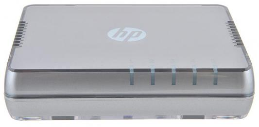 Коммутатор HP 1405 5G v3 неуправляемый 5 портов 10/100/1000Mbps JH407A