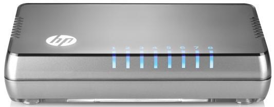 Коммутатор HP 1405 8G v3 неуправляемый 8 портов 10/100/1000Mbps JH408A