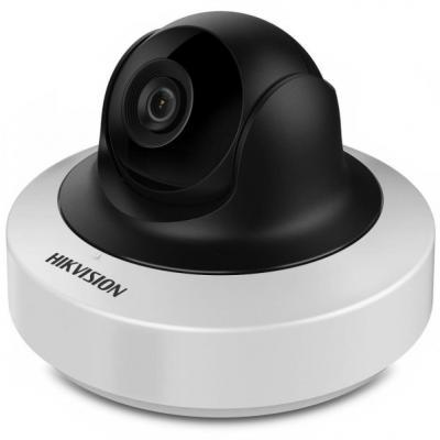 Камера IP Hikvision DS-2CD2F42FWD-IS CMOS 1/3'' 2688 x 1520 H.264 RJ-45 LAN PoE белый черный free shipping english version ds 2cd2125fwd is 2mp ultra low light network dome camera poe cctv camera audio sd card h 265