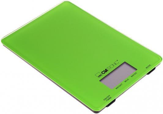 Весы кухонные Clatronic KW 3626 зелёный мини печь clatronic mbg 3521