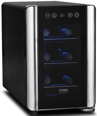 Холодильник CASO WineCase 6 черный винный шкаф caso winemaster touch aone черный