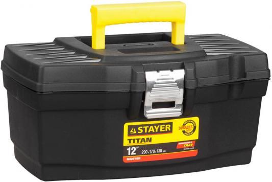 """Ящик для инструмента Stayer Master 12"""" пластиковый 38016-12"""