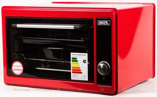 Мини-печь Akel AF-710 красный