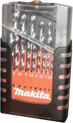 Фото - Набор сверл Makita D-29941 19шт набор сверл makita d 08660 9шт металл дерево бетон