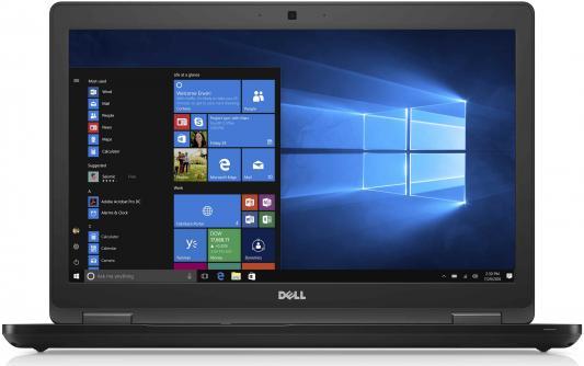 """Ноутбук DELL Latitude 5580 15.6"""" 1920x1080 Intel Core i5-7440H 5580-9231"""