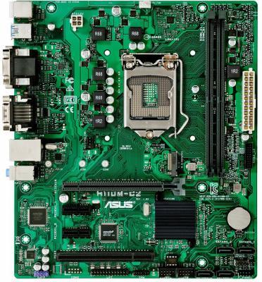Мат. плата для ПК ASUS H110M-C2/C/SI Socket 1151 H110 2xDDR4 1xPCI-E 16x 1xPCI 2xPCI-E 1x 4xSATAIII mATX