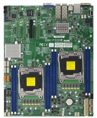 лучшая цена Материнская плата Supermicro MBD-X10DRD-LTP-O 2 х Socket 2011 C612 8xDDR4 1xPCI-E 8x 6 EATX Retail MBD-X10DRD-LTP-O