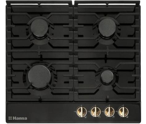 Варочная панель газовая Hansa BHGA61059 черный газовая варочная панель hansa bhgw63030 bhgw63030