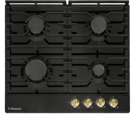 Варочная панель газовая Hansa BHGA61079 черный электроплита hansa fccw 54002