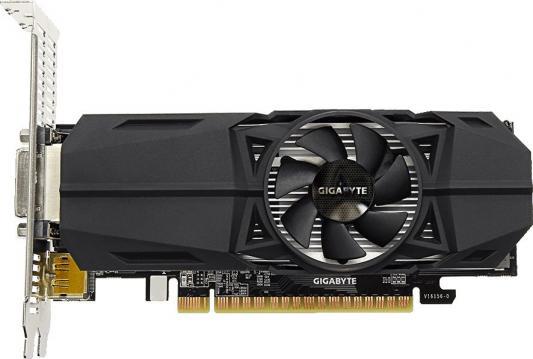 Видеокарта 4096Mb Gigabyte GeForce GTX1050Ti PCI-E 128bit GDDR5 DVI HDMI DP GV-N105TOC-4GL Retail видеокарта gigabyte geforce gtx 1050ti 4096mb gv n105toc 4gd dvi d hdmi dp ret