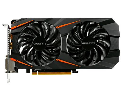 где купить  Видеокарта 6144Mb Gigabyte GeForce GTX1060 PCI-E 192bit GDDR5 DVI HDMI DP GV-N1060WF2-6GD Retail  дешево