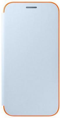 Чехол Samsung EF-FA520PLEGRU для Samsung Galaxy A5 2017 Neon Flip Cover синий
