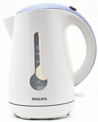 Чайник Philips HD 4677/50 2400Вт 1.7л пластик белый поврежденная упаковка, сломана крышка утюг philips gc2998 80 чёрный 2400вт