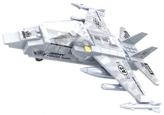 Конструктор Ausini Армия - Самолет 126 элементов  22402 кордщетка атака 22402