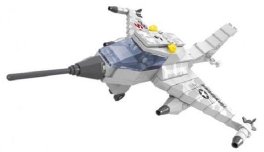Конструктор Ausini Армия - Самолет KS T-3000 168 элементов 22406 конструктор ausini армия джип с ракетной установкой 197дет