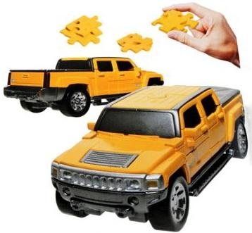 Пазл 3D HAPPY WELL Hummer H3T Non Assemble