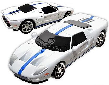Пазл 3D 48 элементов HAPPY WELL Ford GT Non Assemble  57124