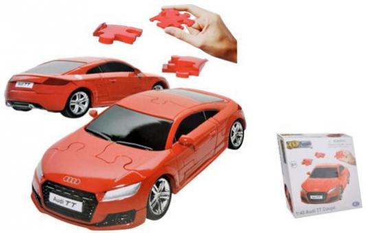 Пазл 3D HAPPY WELL 1:43 Audi TT Coupe Coupe Non Assemble модель автомобиля 1 18 motormax audi tt coupe