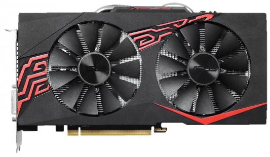 Видеокарта 8192Mb ASUS GeForce GTX1070 PCI-E 256bit GDDR5 DVI HDMI DP HDCP EX-GTX1070-O8G Retail asus radeon rx 460 1200mhz pci e 3 0 4096mb 7000mhz 128bit dvi hdmi dp hdcp strix rx460 4g gaming