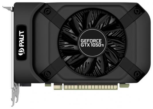 Видеокарта 4096Mb Palit GeForce GTX1050TI StormX 4G PCI-E 128bit GDDR5 DVI HDMI DP HDCP NE5105T018G1-1070F Oem видеокарта 4096mb asus geforce gtx1050 ti pci e 128bit gddr5 dvi hdmi dp hdcp strix gtx1050ti o4g gaming retail