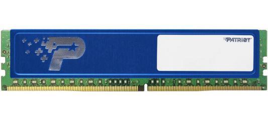 Оперативная память 4Gb PC4-19200 2400MHz DDR4 DIMM Patriot PSD44G240041H