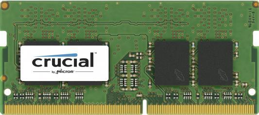 Оперативная память для ноутбука 4Gb (1x4Gb) PC4-19200 2400MHz DDR4 SO-DIMM CL17 Crucial CT4G4SFS624A