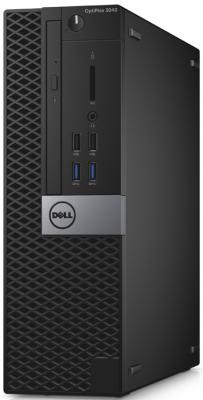 Системный блок DELL Optiplex 3046 SFF i5-6500 3.2GHz 4Gb 500Gb HD530 DVD-RW Win10Pro клавиатура мышь серебристо-черный 3046-8388