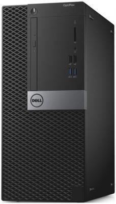 Системный блок DELL Optiplex 3046 MT G4400 3.3GHz 4Gb 500Gb HD510 DVD-RW Win10Pro клавиатура мышь серебристо-черный 3046-8340