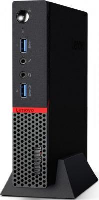 Неттоп Lenovo ThinkCentre M600 Tiny Intel Celeron-N3010 2Gb SSD 16 Intel HD Graphics DOS черный 10KGS06Y00 неттоп lenovo thinkcentre m600 tiny slim 10gb000rru celeron j3060 1 6 4gb 500gb hd graphics 400 wifi bt 6xusb 3 0 2xdp lan win 10 sl black