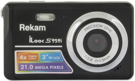 Цифровая фотокамера Rekam iLook S959i 21 Mpx 2.7 LCD серый