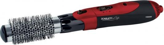 Фен-щетка Scarlett SC-HAS73I10 чёрный красный scarlett sc has73i10 черный с красным