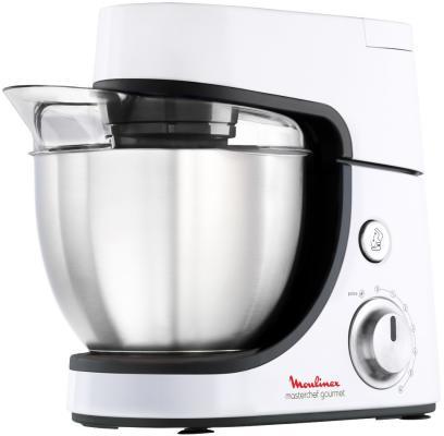 Кухонный комбайн Moulinex QA50ADB1 900Вт серебристый
