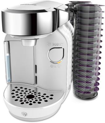 Кофемашина Bosch TAS7004 серебристый белый цена