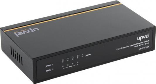 Коммутатор Upvel UP-215SGE 5 портов PoE 10/100/1000Mbps