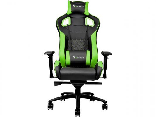 Кресло Thermaltake GTF 100 черно-зеленый GC-GTF-BGMFDL-01