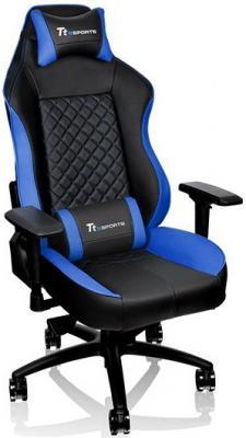 Кресло Thermaltake GTC 500 черно-синий GC-GTC-BLLFDL-01