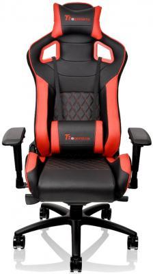 Кресло компьютерное игровое Thermaltake GTF 100 черно-красный GC-GTF-BRMFDL-01