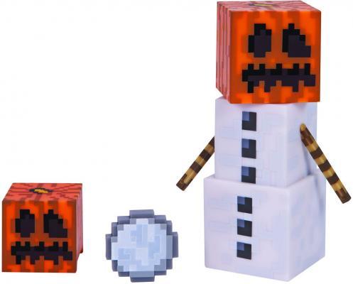 Игровой набор Minecraft Снежный голем с аксессуарами набор игровой c фигуркой и аксессуарами minecraft зомби