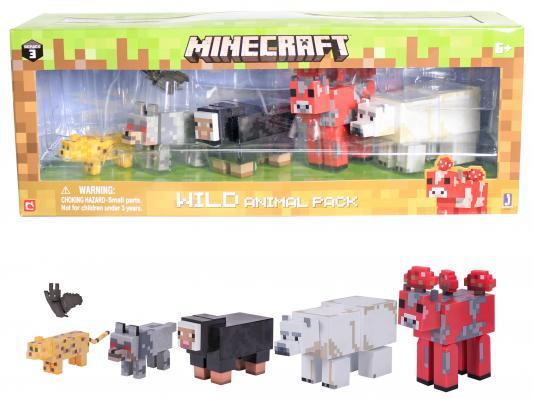 Игровой набор Minecraft Животные 6 шт. 6 предметов 59991 игрушка minecraft набор алекс с скелетом лошади игровой набор