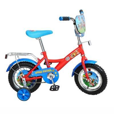 """Велосипед Навигатор Щенячий патруль 12"""" красно-голубой"""