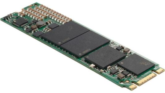 Твердотельный накопитель SSD M.2 512Gb Crucial Micron 1100 Read 530Mb/s Write 500Mb/s SATAIII MTFDDAV512TBN-1AR1ZABYY твердотельный накопитель ssd m 2 64gb transcend mts600 read 560mb s write 310mb s sataiii ts64gmts600