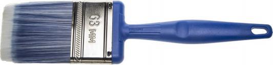 Кисть плоская Зубр Эксперт искусственная щетина пластиковая ручка 63мм 4-01060-063