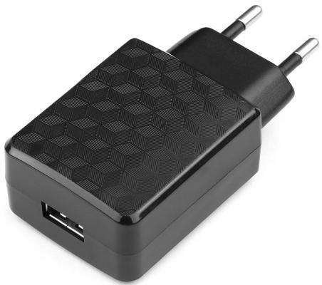 Сетевое зарядное устройство Cablexpert MP3A-PC-06 USB 2А черный