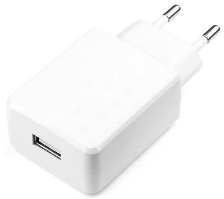 Сетевое зарядное устройство Cablexpert MP3A-PC-03 USB 1A белый зарядное
