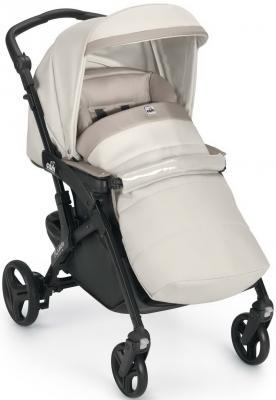 Прогулочная коляска Cam Fluido Allegria (цвет 680/молочный-бежевый на черном шасси)