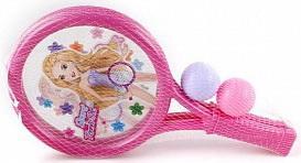 Купить Набор ракетки детские Shantou Gepai 32 см, 2 мяча 633400, Пластик, Для всех, Воздушные змеи