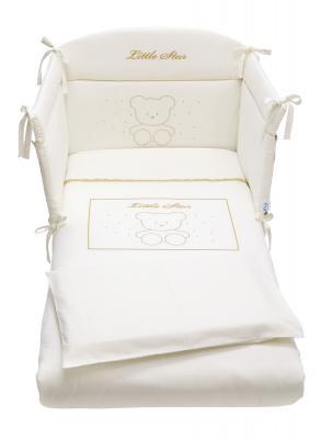 Комплект постельного белья 3 предмета Pali Little Star Prestige (магнолия)