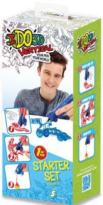 Ручка 3D Вертикаль REDWOOD 3D 1шт Машинки синий 155837M 3d ручка redwood вертикаль машинки blue 155837m